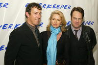 Alex Matthiessen, Donna Dixon and Dan Aykroyd at the 2nd benefit photo auction for Riverkeeper.
