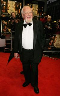 Joss Ackland at the royal premiere of