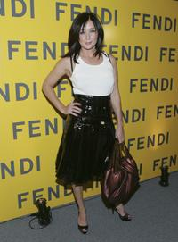 Shannen Doherty at the Fendi Flagship Store Opening.