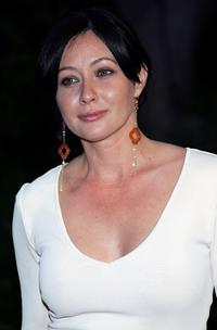 Shannen Doherty at the HollyRods Designcure 7th Annual Benefit and fashion show featuring designs by Pamela Dennis.