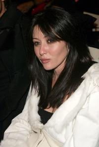 Shannen Doherty at the Baby Phat Fall 2005 show during the Olympus Fashion Week.