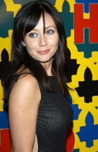 Shannen Doherty at the Golden Globe After Party.