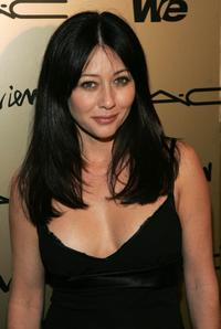 Shannen Doherty at the Zac Posen after party.