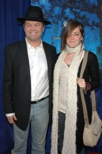 Micky Dolenz and Georgia at the premiere of