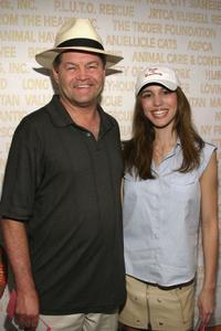 Micky Dolenz and Christy Carlson Romano at the Sixth Annual Broadway Barks Adoption Event.