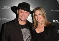 Micky Dolenz and Donna Quinter at the premiere of