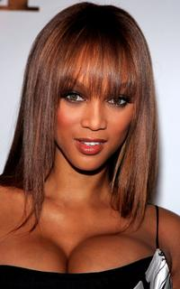 Tyra Banks at the Americas Next Top Model Cycle 5 Finale Event.