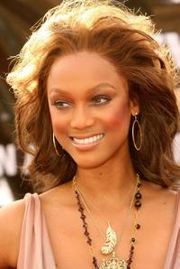 Tyra Banks at the 20th Annual Soul Train Music Awards.