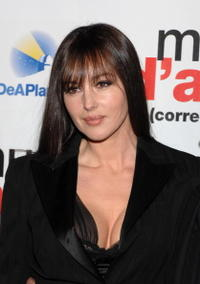 Monica Bellucci at the Madrid premiere for ''Manual D'Amore 2.''