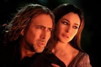 Nicolas Cage and Monica Bellucci in