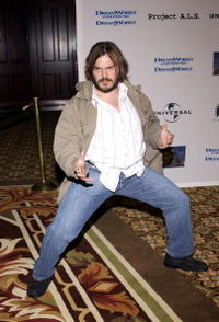 Jack Black at the 5th Annual Project A.L.S. Benefit Gala in Century City, California.