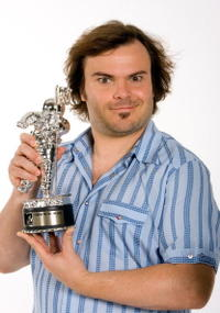 Jack Black at the MTV Video Music Awards in Los Angeles.