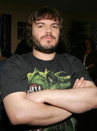 Jack Black at the 2006 American Music Awards in Los Angeles.