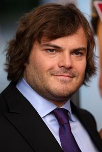 Jack Black at the New York premiere of