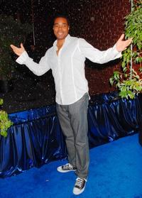 Gabriel Casseus at the Jay-Z and GIANT Magazines MTV Movie Awards after party.