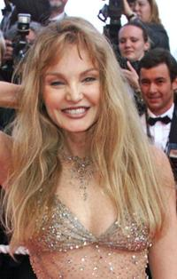 Arielle Dombasle at the 54th Cannes Film Festival opening ceremony.