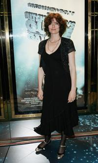 Anna Chancellor at the world premiere of