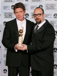 Thomas Haden Church and Paul Giamatti at the 62nd Annual Golden Globe Awards.