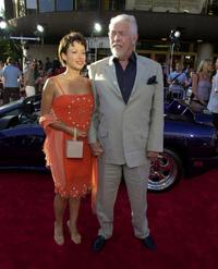 James Coburn and his wife Paula at the Westwood premiere of