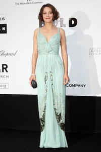 Marion Cotillard at the amfAR Cinema Against AIDS 2009 benefit during the 62nd Annual Cannes Film Festival.