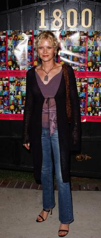 Missy Crider at the gala premiere party of