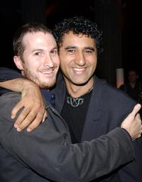 Darren Aronofsky and Cliff Curtis at the after party of the premiere of