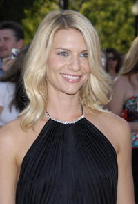 Claire Danes at the L.A. premiere of