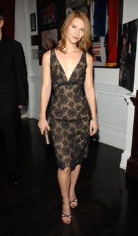 Claire Danes at Out Magazine's Out 100 Awards party in N.Y.