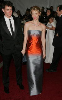Claire Danes at the Metropolitan Museum of Art Costume Institute Benefit Gala