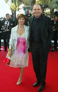 Ariane Ascarides and Jean-Pierre Darroussin at the premiere of