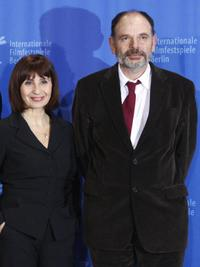 Ariane Ascaride and Jean-Pierre Darroussin at the photocall of