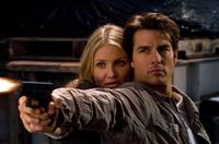 Cameron Diaz and Tom Cruise in