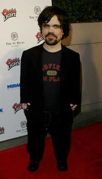Peter Dinklage at the Miramaxs Annual Max Awards.
