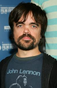 Peter Dinklage at the press conference of