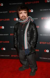Peter Dinklage at the screening of