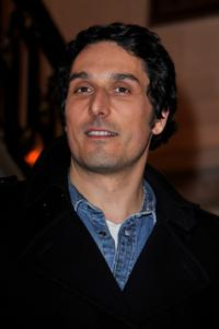 Vincent Elbaz at the launch party for the 1.2.3 collection.