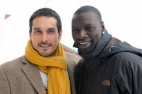 Vincent Elbaz and Omar Sy at the International Comedy Film Festival.
