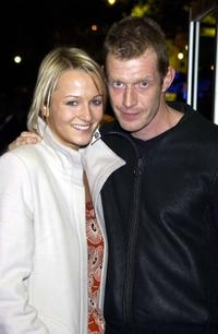 Emma and Jason Flemyng at the screening of