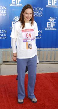 Claire Forlani at the 9th Annual Revlon Run/Walk for Women.