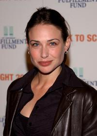 Claire Forlani at the Fulfillment Funds College Pathways Project.