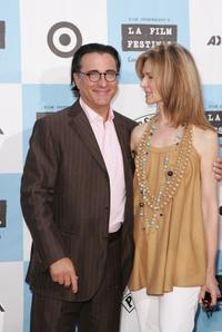 Andy Garcia and Dawn Hudson at the screening of
