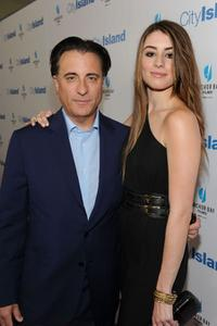 Andy Garcia and Dominik Garcia-Lorido at the California premiere of