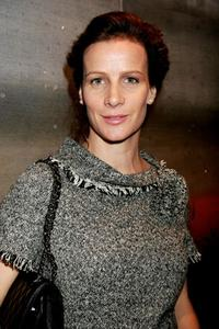 Rachel Griffiths at the Artist Andrew Taylor Exhibition opening of