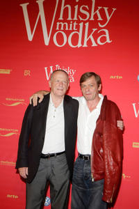 Wolfgang Kohlhaase and Sylvester Groth at the premiere of