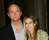 John Benjamin Hickey and Sarah Jessica Parker at the Cinema Society & Zenith Watches screening of