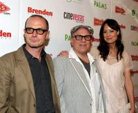 Toby Huss, Bobcat Goldthwait and Alexie Gilmore at the 11th Annual CineVegas Film Festival.