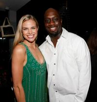 Ke Burns and Richard T. Jones at the Fox Fall Eco-Casino party.