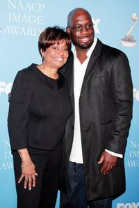 Clayola Brown and Richard T. Jones at the 39th Annual NAACP Image Awards.