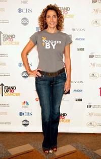 Melina Kanakaredes at the Stand Up For Cancer.