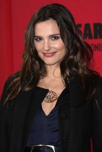Virginie Ledoyen at the Cesar Film Awards 2008.